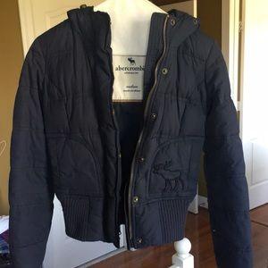 Abercrombie girls medium down jacket